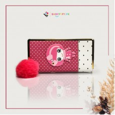 Pink Kitty Hand Wallet for Girls