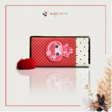 Red Kitty Hand Wallet for Girls