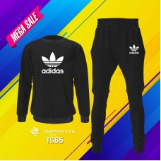 Black Ad Top Quality Winter Boys Tracksuit