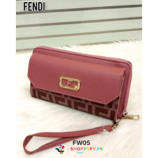 Pink New Style Women Hand Wallet 2020