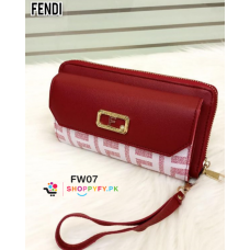 Red New Style Women Hand Wallet 2020