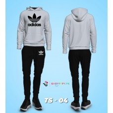AD Grey Winter Tracksuit For Men